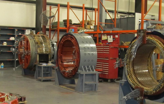 Large DC Electric Motors